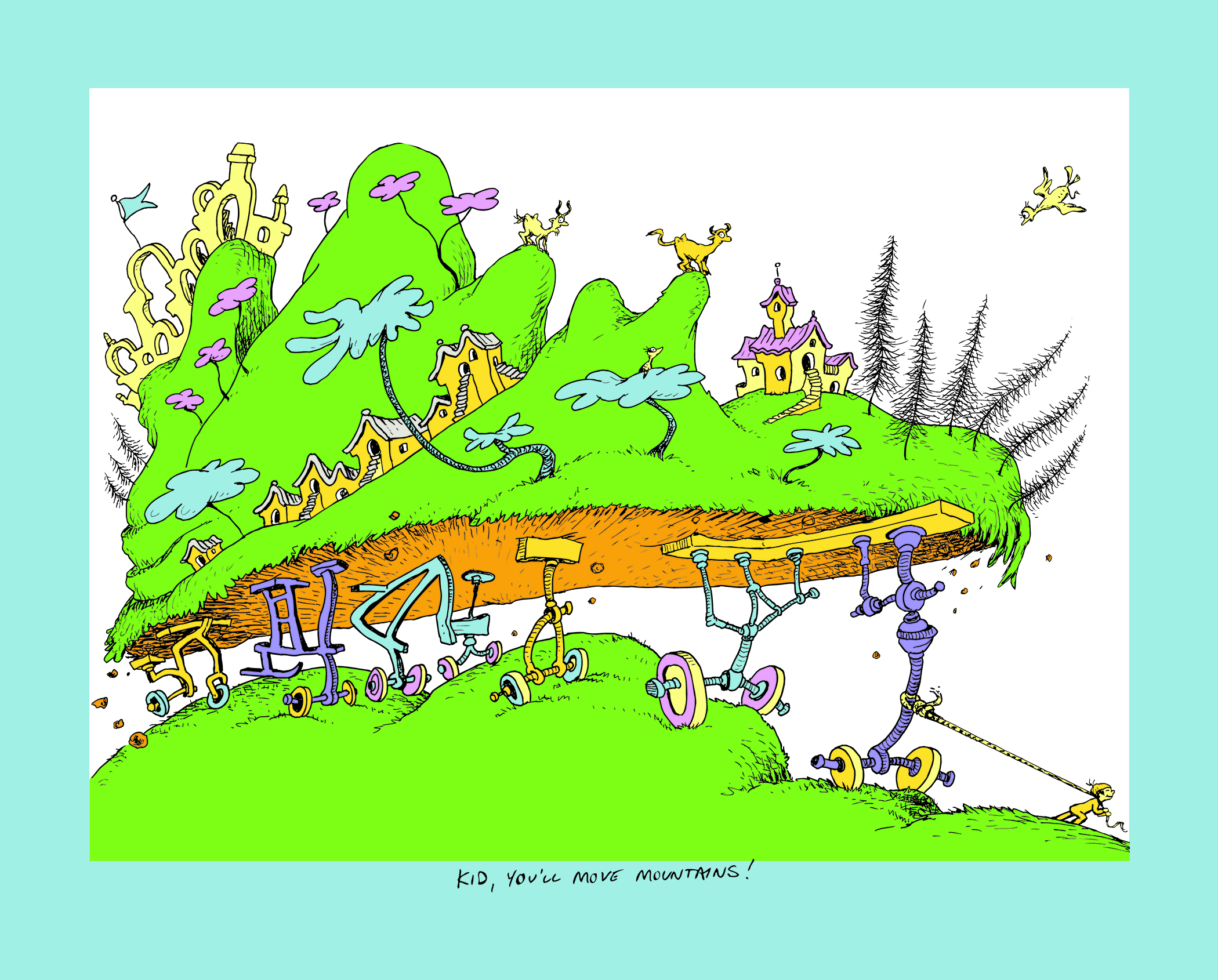 oh the places you ll go dr seuss s legacy novella